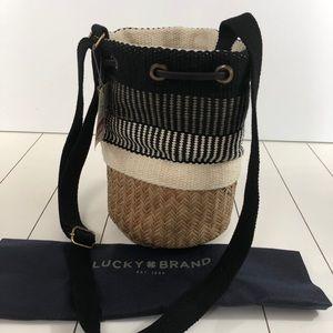 Lucky Brand Rica woven bucket bag - BNWT